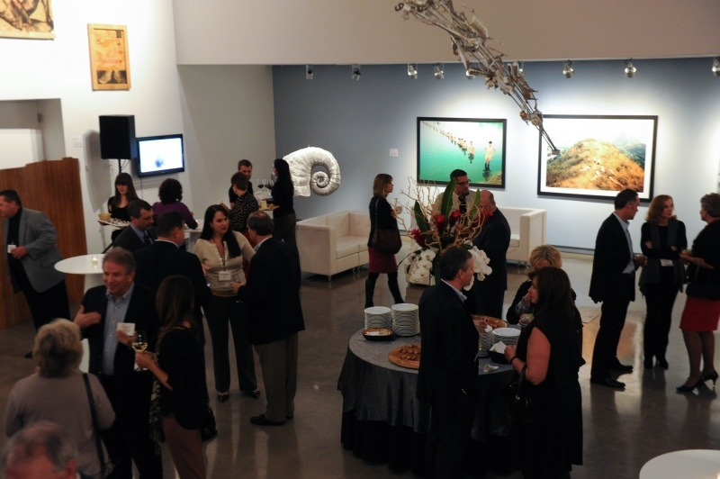 2012 reception at museum