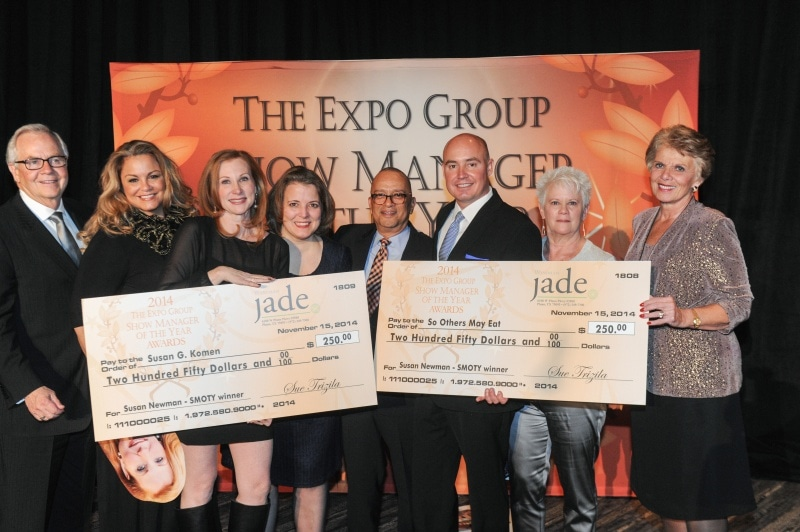 2014 Expo Group Winning shot w checks