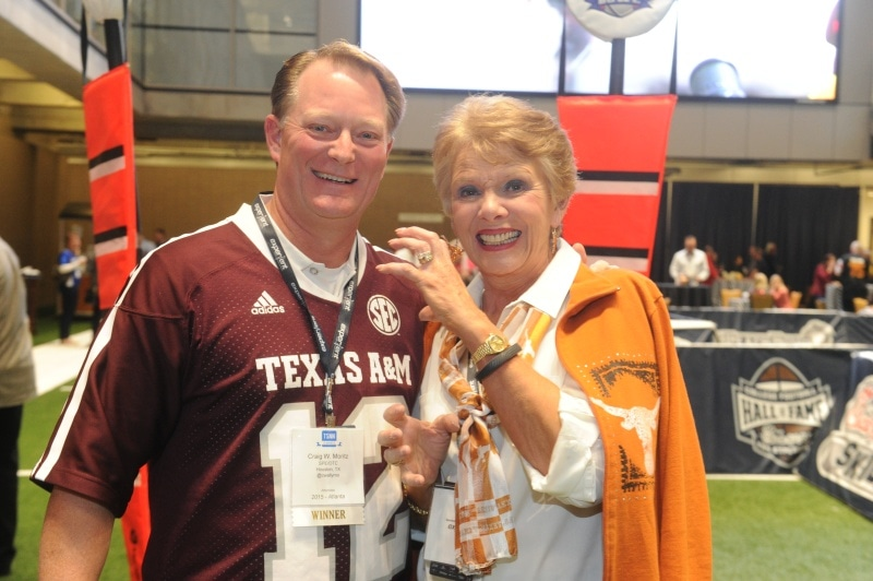 2015 College FB Hall of Fame TSO w sponsor funny